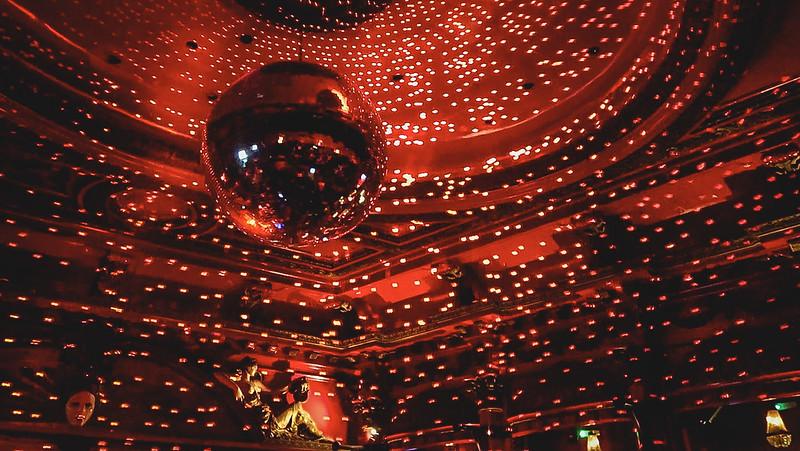 Disco ball at KOKO London