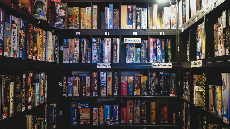 London board game cafe