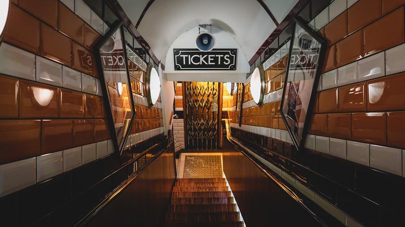 Cahoots underground bar in London