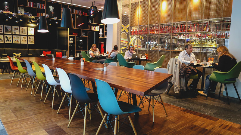 Breakfast at CitizenM Hotel