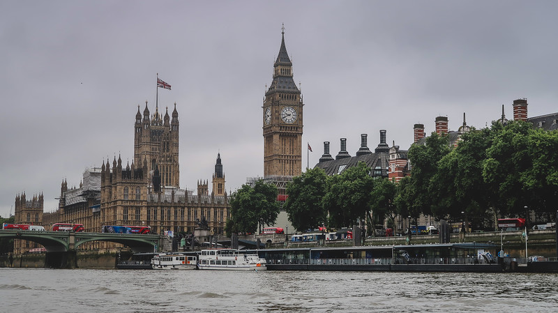 Iconic London views with Big Ben