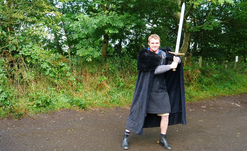 Dressing up in Northern Ireland for a Game of Thrones Experience