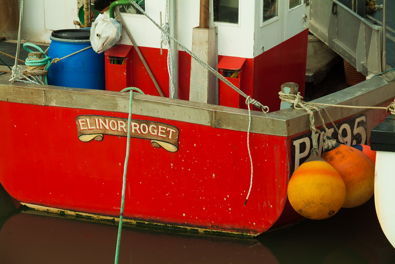 Fishing Boat Detail, Padstow