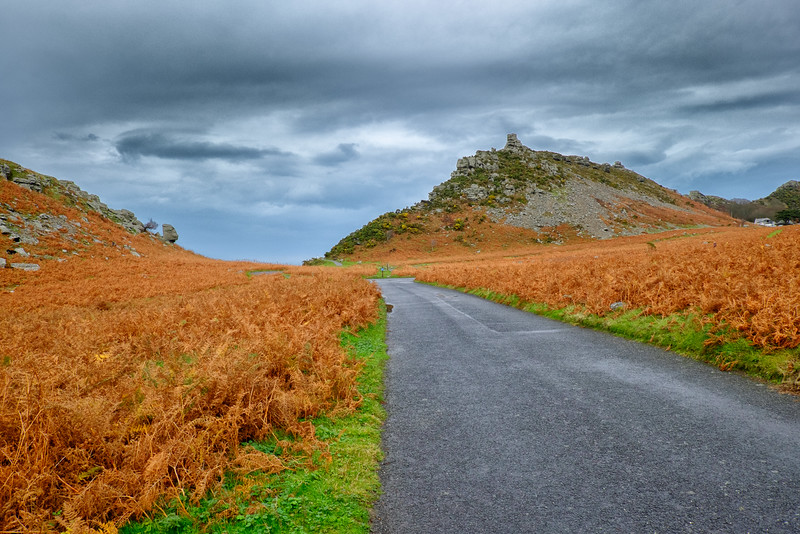 Valley Of The Rocks, Exmoor, Devon