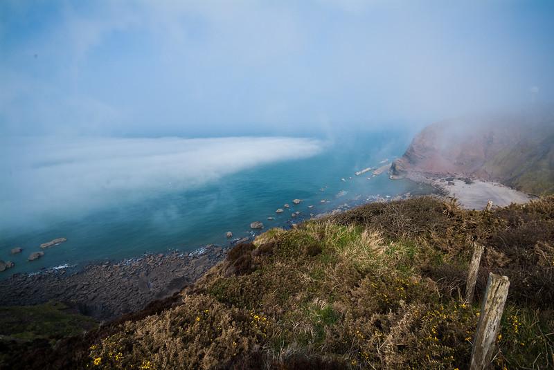 Sea Mist Approaching, Barley Bay