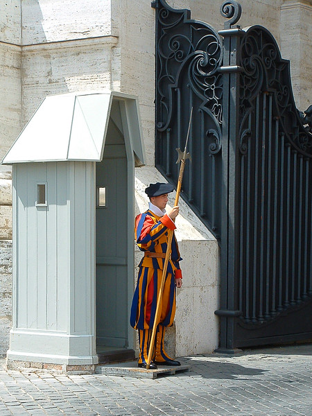 Swiss Guard, The Vatican, Rome