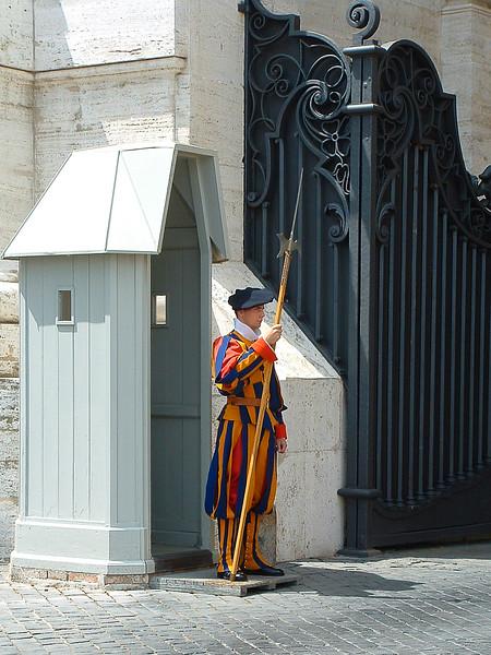 Swiss Guard, The Vatican, Rome