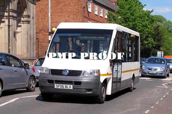 Buses at Newark May 2014