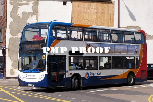 Buses in Lincoln May 2014