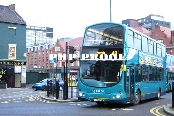 TYNE AND WEAR BUSES OCT 2016