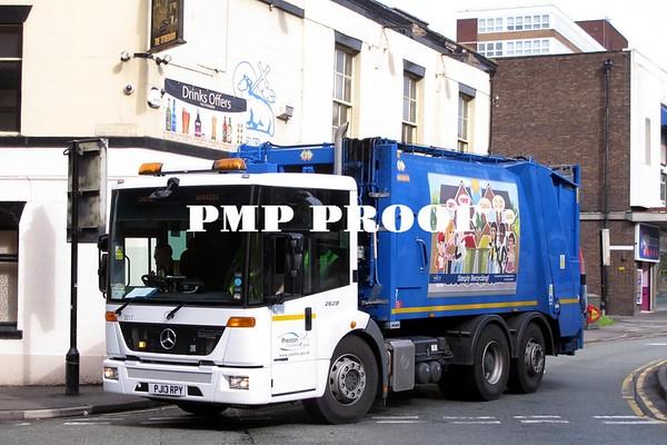Preston, Blackburn,Accrington Buses May 2014