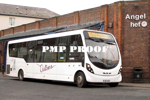 WORCESTER BUSES MARCH 2015