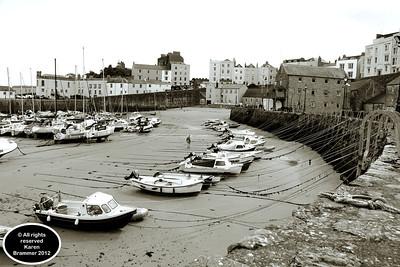 Tenby Harbour, Pembrokeshire, West Wales