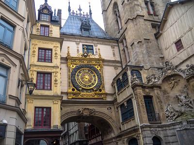 Rouen Clock DNG