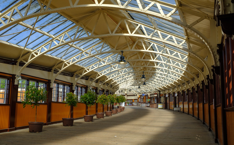 Wemyss Bay Railway Station Scotland May 2017
