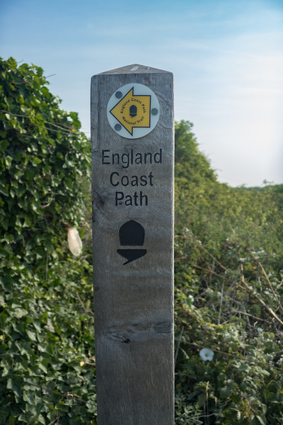 England Coast Path National Trail June 2017