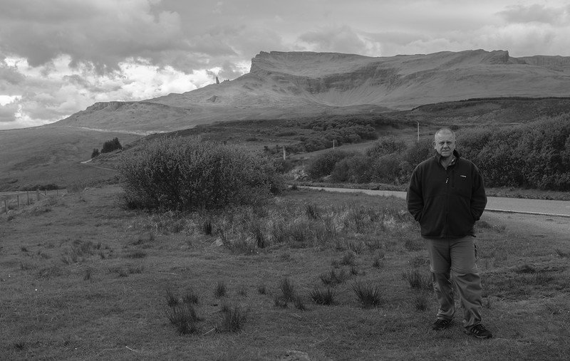 Tony Old Man of Storr Isle of Skye May 2017