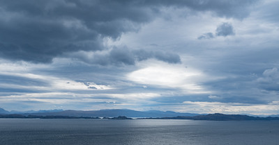 Looking across the Sound of Raasay from the Isle of Skye May 2017
