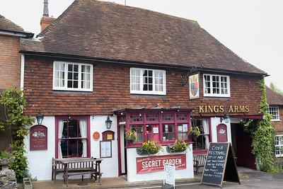 Kings Arms Elham Kent Pub Lunch May 2017
