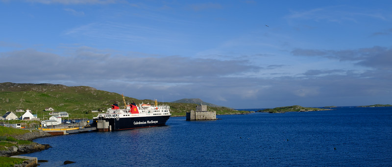 Castlebay and Kisimul Castle Barra Outer Hebrides