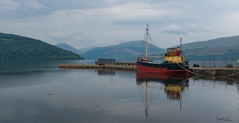 Vital Spark Loch Fyne Inveraray May 2017