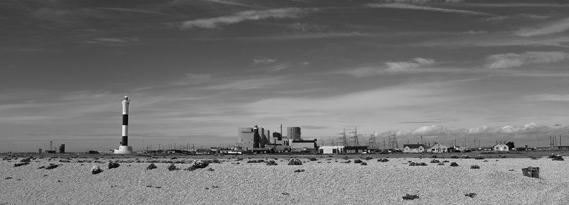 Dungeness Beach Lighthouse, Cribs, and Nuclear Power Station!