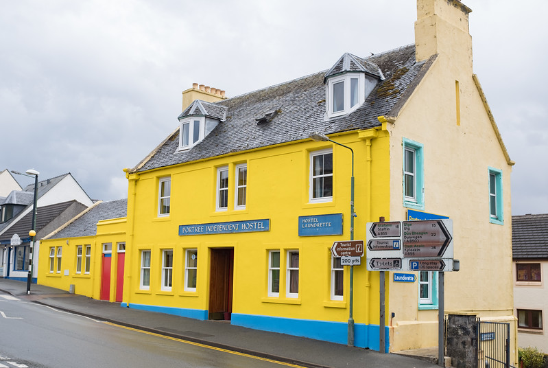 Portree Independent Hostel Isle of Skye May 2017
