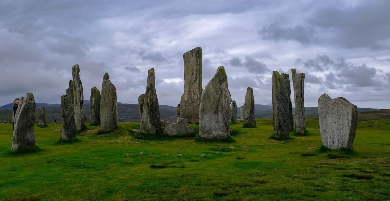 Calanais Stones Isle Lewis Outer Hebrides Jun 2017