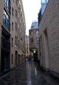 Clink Street back streets of London UK May 2017