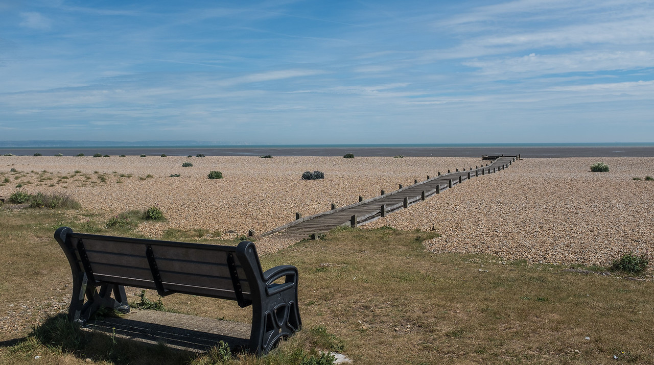 Lydd-on-Sea, near Dungeness UK May 2017