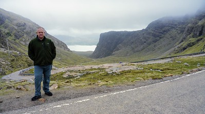 Top of Bealach na Bà is a historic pass through the mountains of the Applecross peninsula.