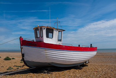 Fishing Boat Rebecca Dungeness UK May 2017