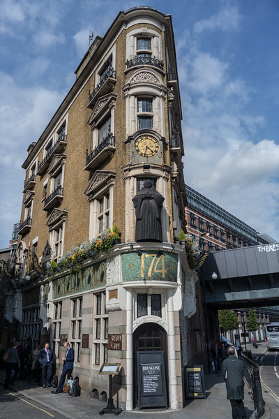 Blackfriars Pub London UK May 2017