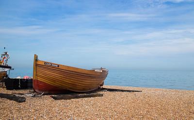 Lady Irene restored fishing boat Deal UK May 2017