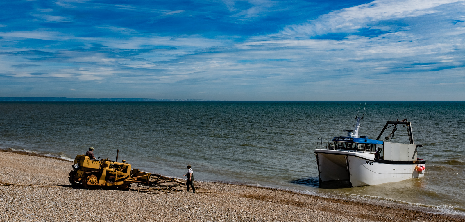 Fishing Vessel Julie Dean Dungeness UK May 2017
