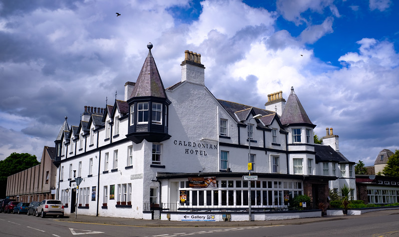 Caledonian Hotel Ullapool Scottish Highlands Jun 2017