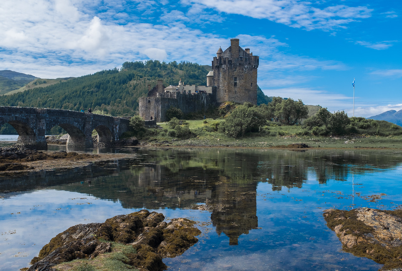 Eilean Donan Castle Scottish Highlands May 2017
