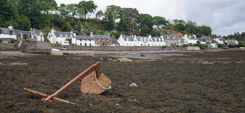 Plockton with Anchor foreground Isle of Skye May 2017