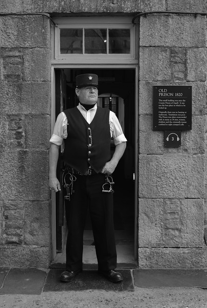 Jailor Inveraray Jail Scotland May 2017
