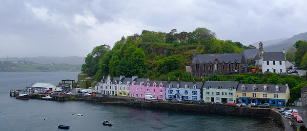 Portree Harbour Isle of Skye May 2017