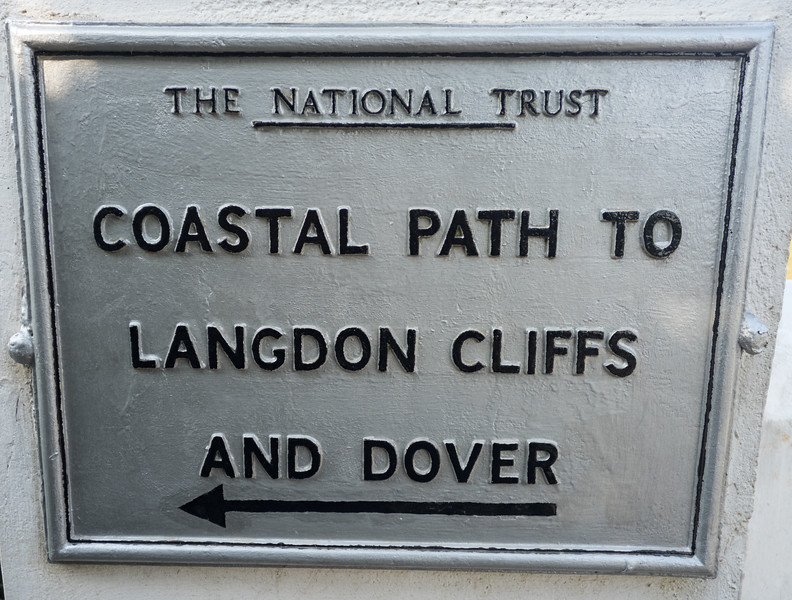 Coastal Path to Langdon Cliffs and Dover