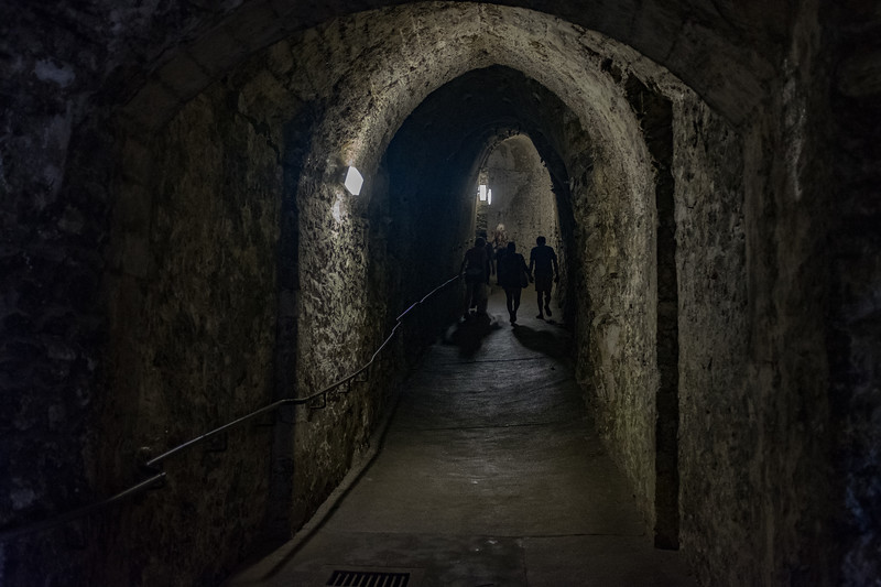 Medieval Tunnels under Dover Castle Jun 2017