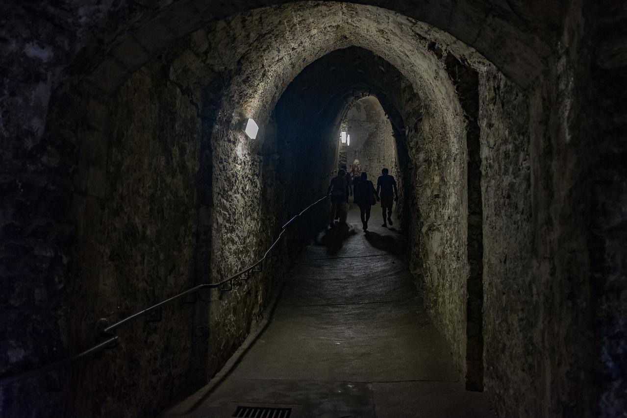 Medieval Tunnels under Dover Castle Jun 2017