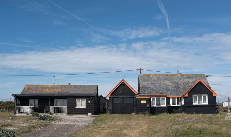 Two Houses Dungeness May 2017