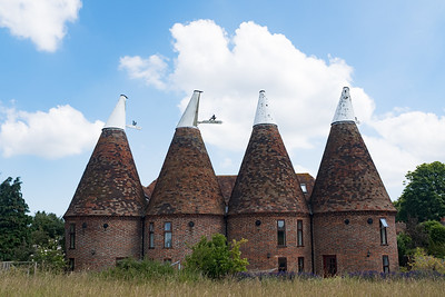 Oast Houses Ickham  Kent UK Jun 2017
