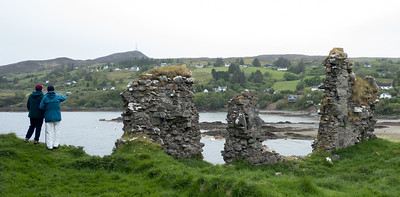 It's Over There: Knock Castle Teangue Isle of Skye May 2017
