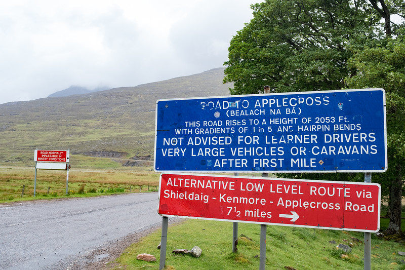 Road to Applecross (Bealach na Ba)