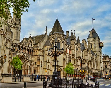 """Royal Courts of Justice"" - London"