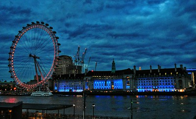 """""""Keeping an Eye on the Thames"""" - London"""