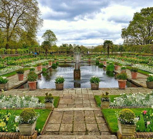 """Kensington Spring"" - Kensington Palace Gardens - London"